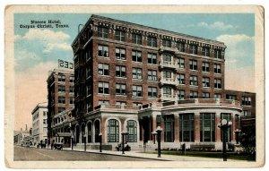 Corpus Christi Texas Postcard Nueces Hotel Street View Autos #75375