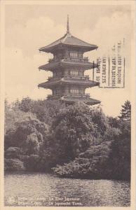 Belgium Brussels Laeken La Tour Japonaise 1939