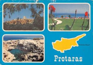 Cyprus Zypern Der beruhmte Strand von Protaras The Famous Protaras Beach