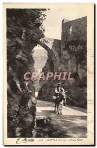 Postcard Old Piano Monte Bastia Corsica Corsica
