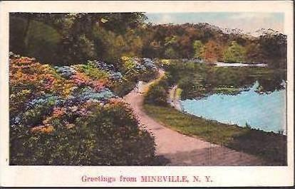 NY Mineville Greetings From