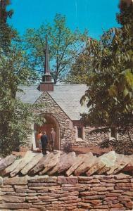 Bloomington~Beck Chapel~Indiana University~1960 Postcard