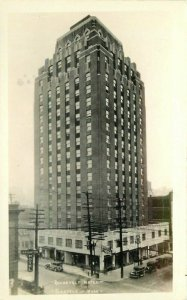 Automobiles Roosevelt Hotel Roadside 1920s Seattle Washington Postcard 11075
