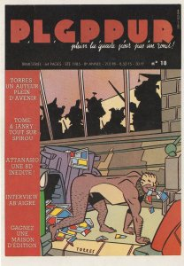 Daniel Torres Man As Dog BDSM Spanish Comic Postcard
