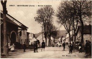 CPA Mouchard- Route d'Arbois FRANCE- (1044359)