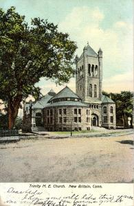 CT - New Britain. Trinity M.E. Church