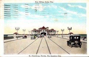 Florida St Petersburg New Million Dollar Pier 1928