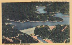 North Carolina Aerial View Of Fontana Dam Curteich