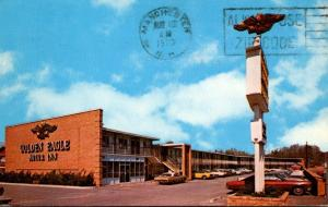 North Carolina East Charlotte Golden Eagle Motor Inn East 1970