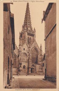 VITRE, Ille et Vilane, France, 1900-1910's; Eglise Notre Dame