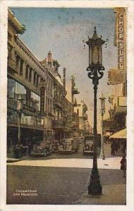 California San Francisco Chinatown