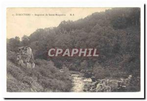 Eymoutiers Old Postcard Baths of St. Margaret