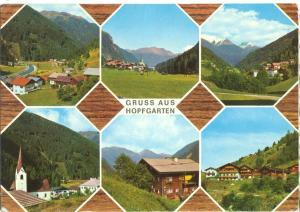 Austria, Gruss aus HOPFGARTEN, 1973 used Postcard