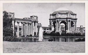 California San Francisco Palace Of Fine Arts