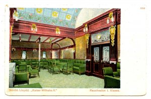 Norddeutscher Lloyd - Kaiser Wilhelm II First Class Smoking Room