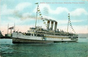 Steamship, Princess Victoria, Lot of 3