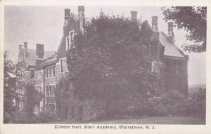 New Jersey Blairstown Clinton Hall Blair Academy 1962