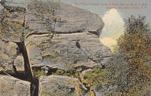 The three sisters rocks at Rock city on WN Y & P Olean, NY, USA D.P.O. , Disc...