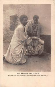 Ethiopia Mission d'Abyssinie Remede du mal de tete (on ouvre une veine du front)