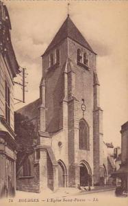 L'Eglise Saint-Pierre, Bourges (Cher), France, 1900-1910s