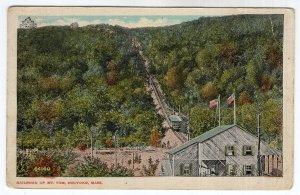 Holyoke, Mass, Railroad Up Mt. Tom