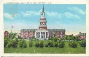Robert's Hall, High Point College, High Point, North Carolina, PU-30-40s