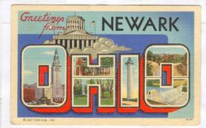 Greetings from Newark, Ohio, PU-1937