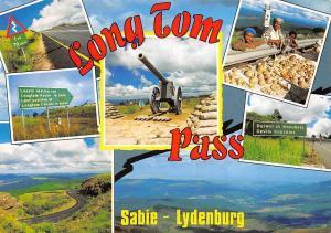 South Africa Long Tom Pass Sabie Lydenburg Schneider heavy artillery guns
