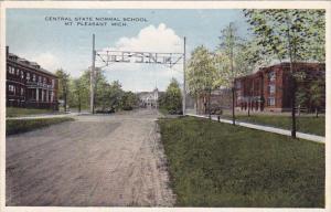 Central State Normal School Mountain Pleasant Michigan 1918