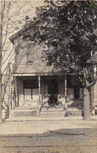 G45/ Buffalo New York RPPC Postcard 1908 Home Residence