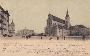 Gruss aus Brunn, Austria , 1899; Thomaskirche,Slatthalteri,Deutsches Haus