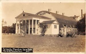 Ft Sill Oklahoma Liberty Theatre New Post Real Photo Antique Postcard K22469