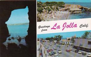 California Greetings From La Jolla