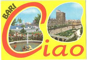 Italy, BARI, Ciao, used Postcard