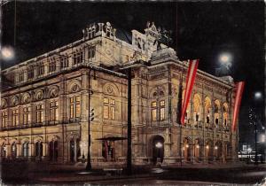 Wien Oper bei Nacht, Opera Hosue at Night