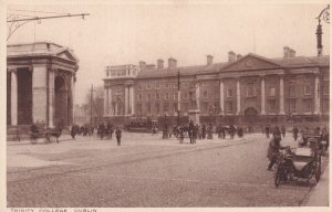 DUBLIN, Ireland, 1900-1910s; Trinity College