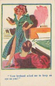 Comic Postcard Garland, Rudolf & Co. W104, Seaside Joke, Humour KL8