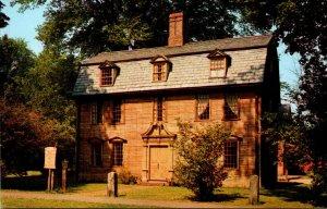 Massachusetts Deerfield Dwight-Barnard House Circa 1725