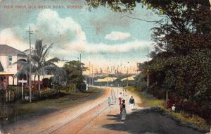 South Africa Dutch Road Durban postcard
