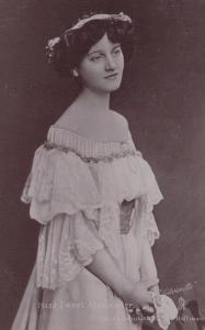 ACTRESS , Miss Janet Alexander , 1900-10s ; TUCK S 1231