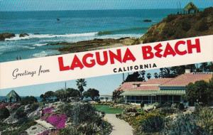 California Greetings From Laguna Beach