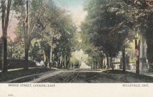 BELLEVILLE, Ontario , 1907 ; Bridge Street(dirt), Looking East