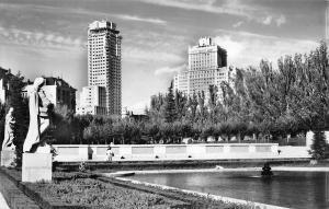 Spain Madrid Jardins de Sabatini gardens, jardines