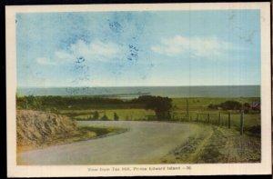 Prince Edward Island View from TEA HILL - PECO - White Border