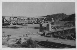 East Macedonia Greece Bridges Real Photo Antique Non Postcard Back J57745