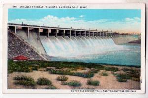 ID - Spillway, American Falls Dam, Idaho