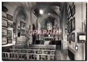 Modern Postcard Menton M N D of the Annunciation of the Interieur chapel