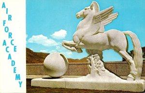 Colorado Colorado Springs Air Force Academy Pegasus Statue