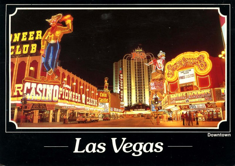 NV - Las Vegas. Downtown Scene