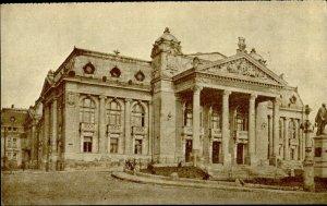 IMR00286 romania iasi teatrul national theatre europa tourism organization 1935